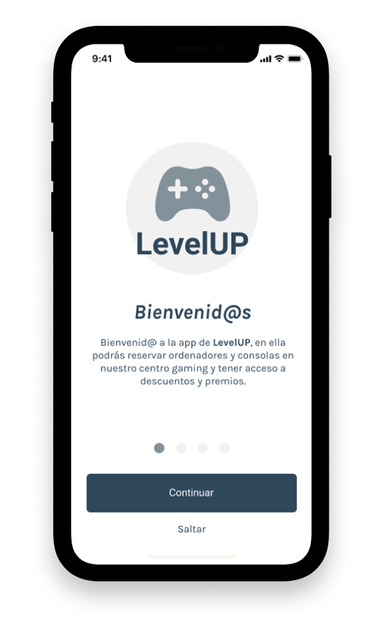 LevelUP - Onboarding